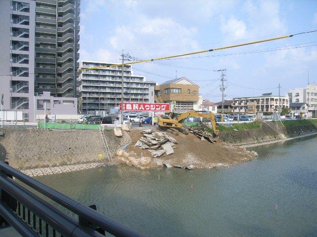樋井川河床掘削工事(8工区)